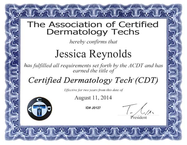 CertificateReynolds