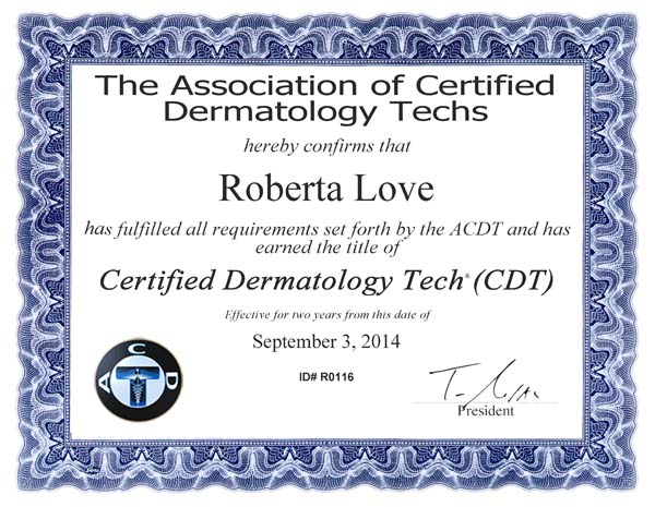 CertificateRLove